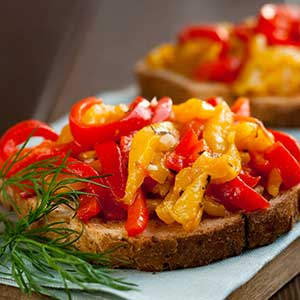 bruschetta-med-paprika