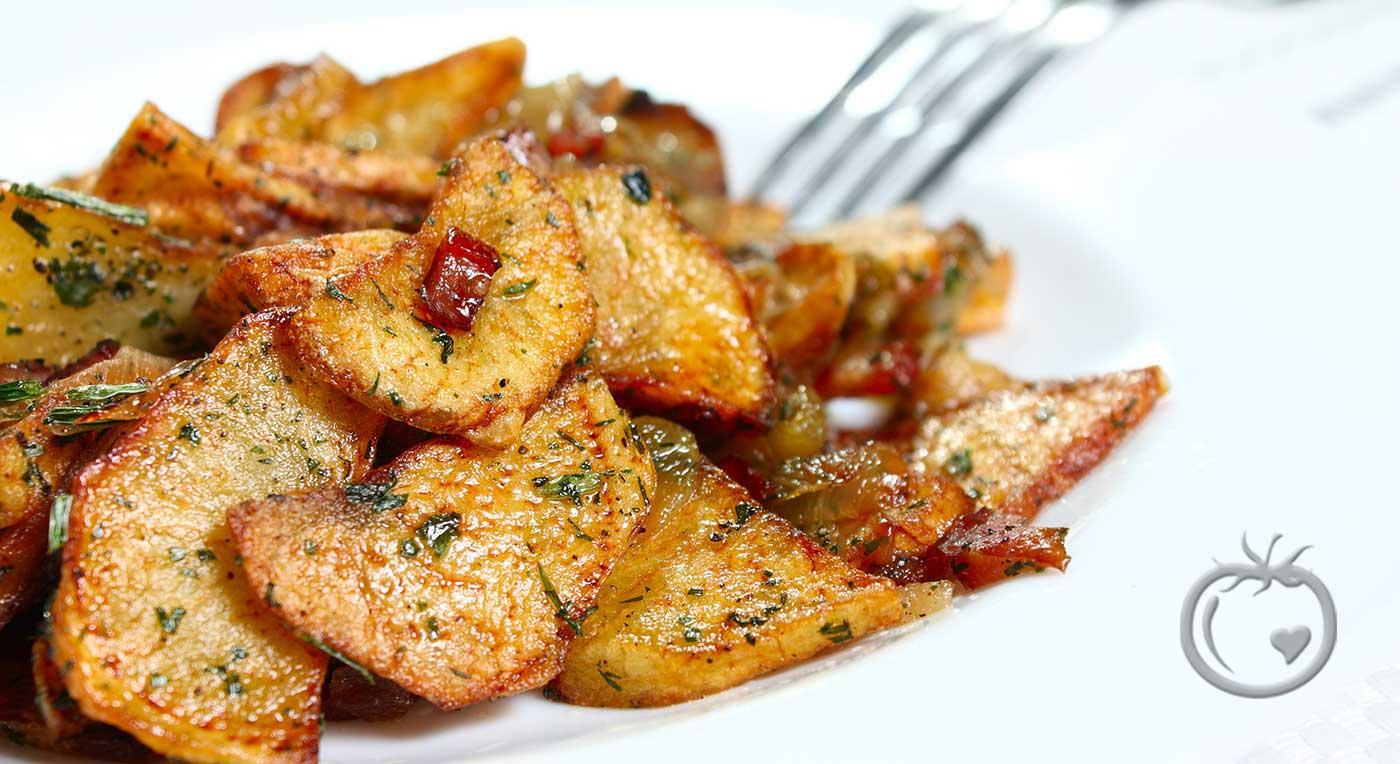 Krydderstekte poteter