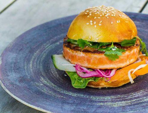 Asiatisk SALMA burger