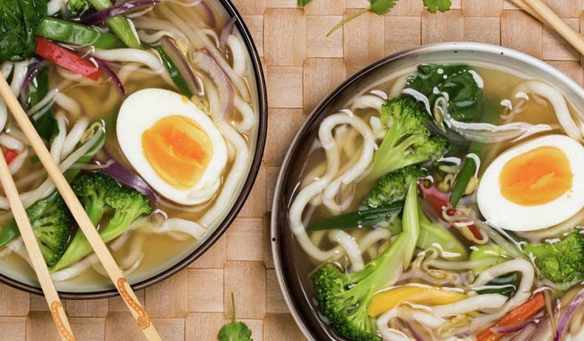 Asiatisk-grønnsaksuppe-Ramen