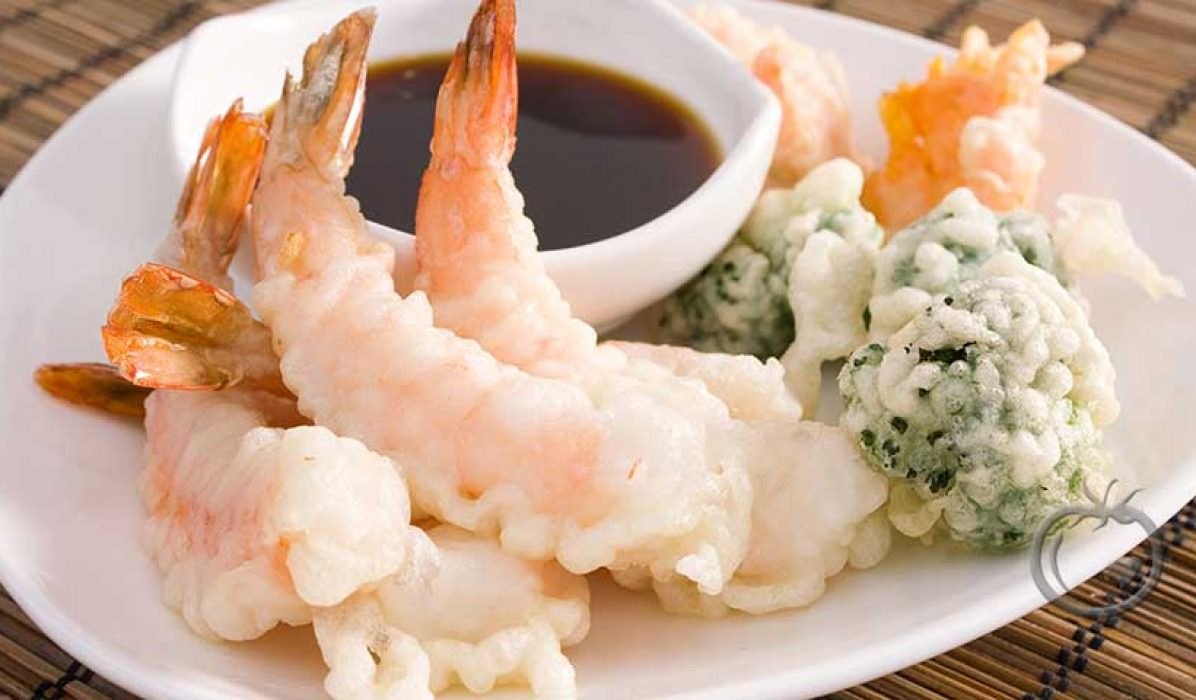 Blandet tempura