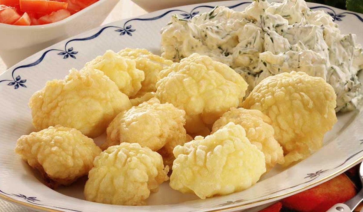 Blomkål tempura