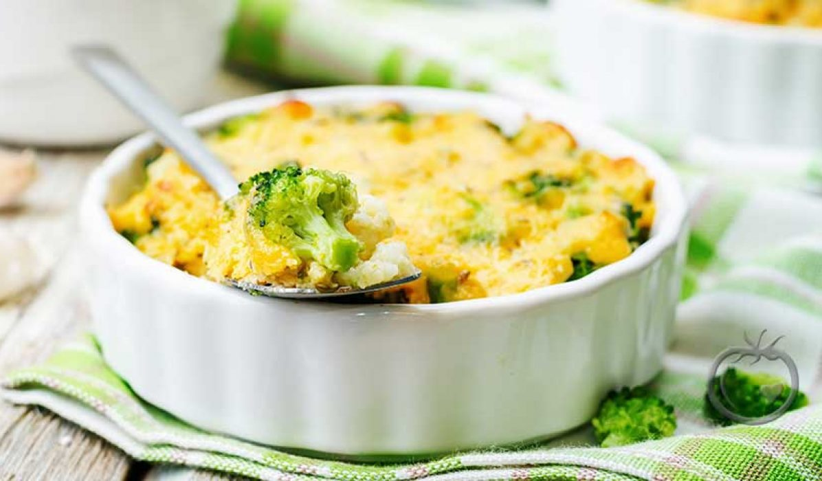 Brokoli,-blomkål-og-makaronigrateng1