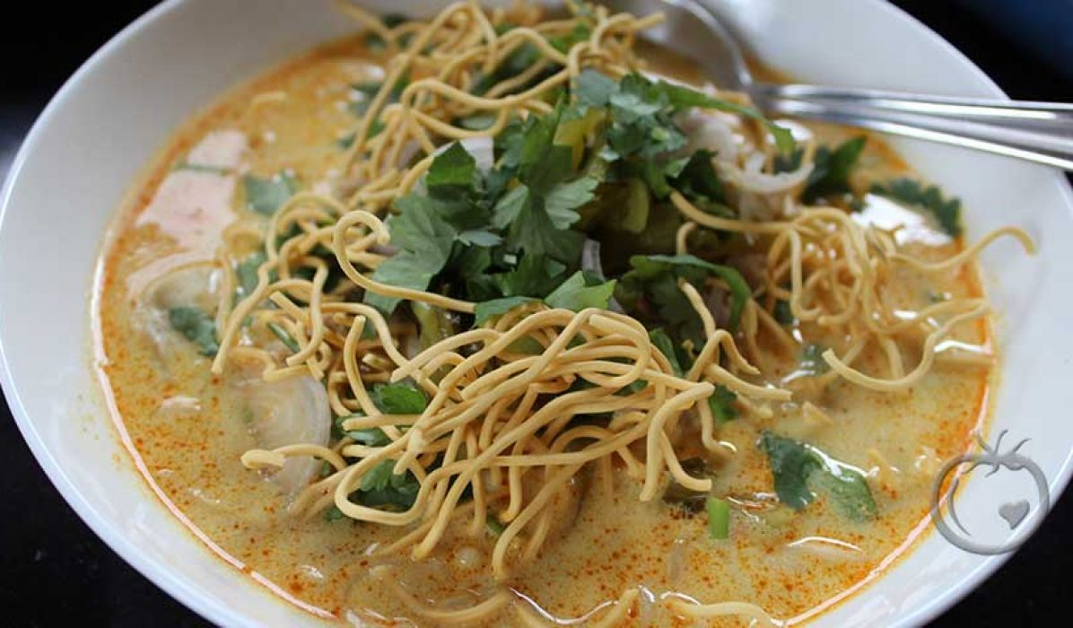 Chiang Mai nudelsuppe