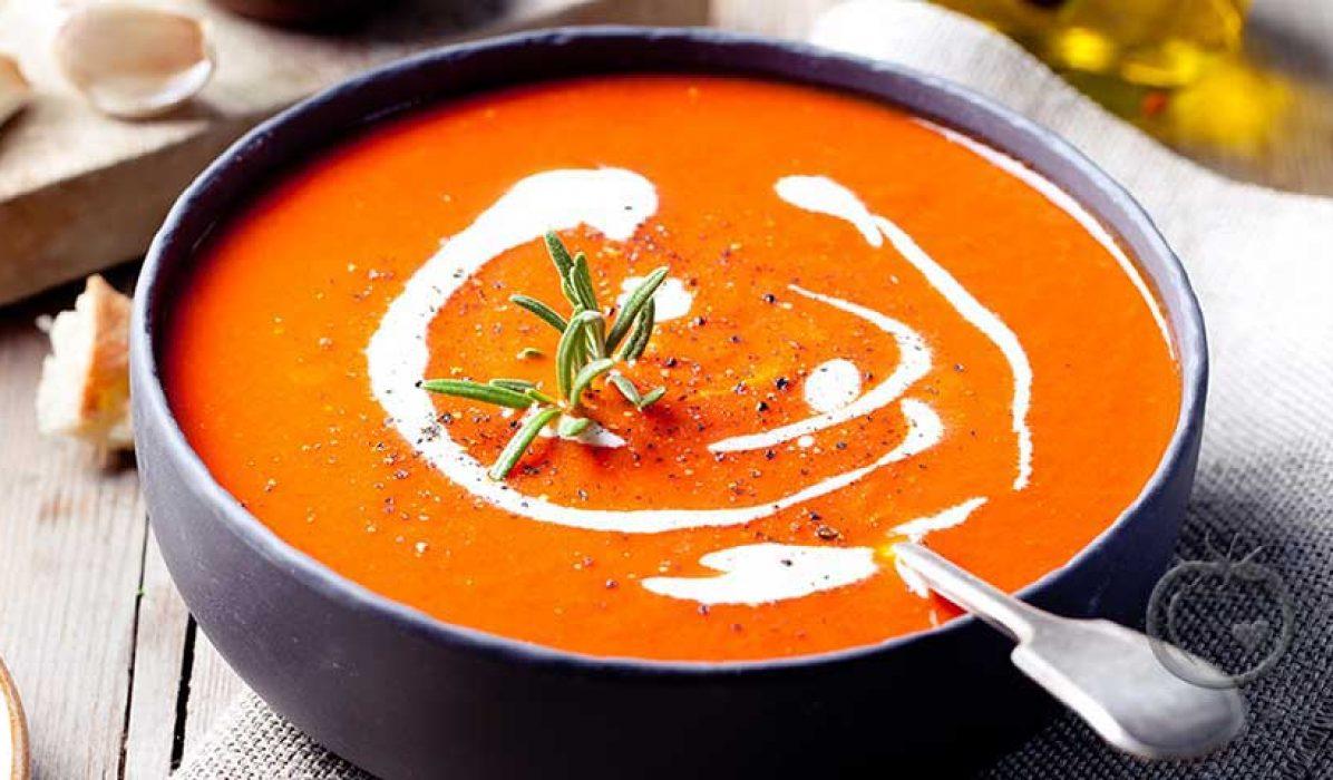 Deilig-tomatsuppe