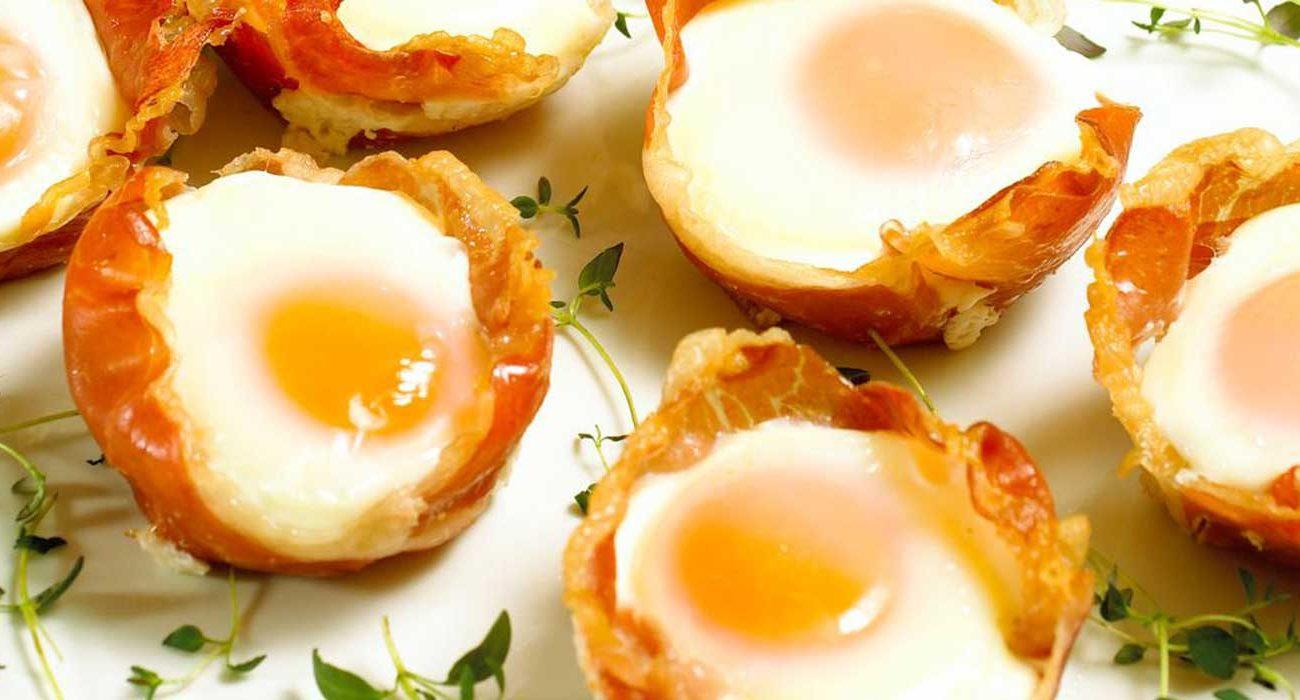 Egg-og-skinke-i-muffinsformer