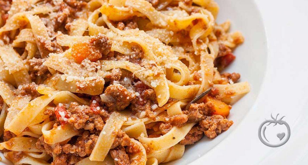 Ekte spaghetti Bolognese