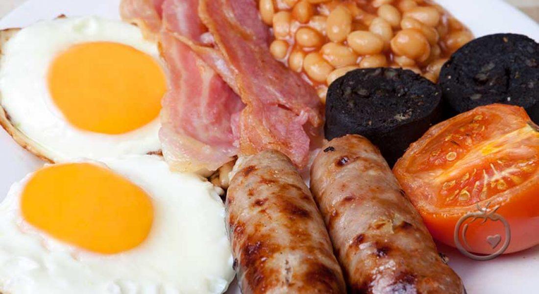 Engelsk frokostpølse