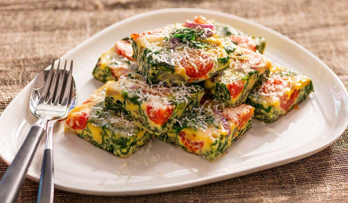 Frittata-med-tomat-og-spinat