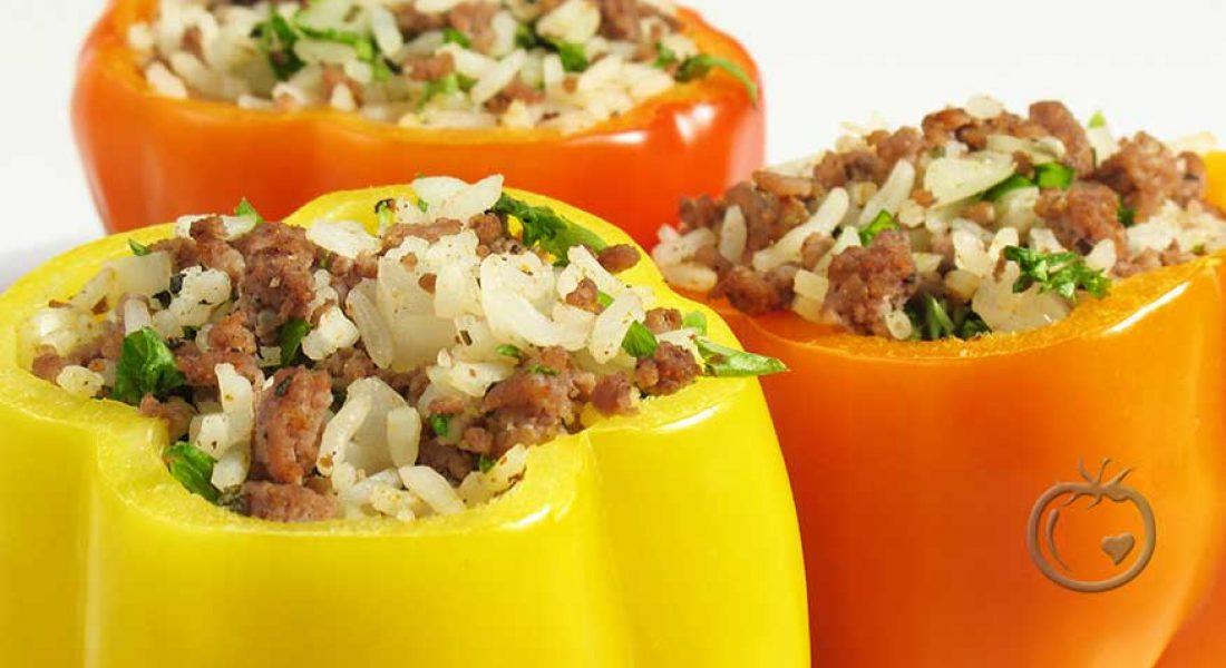 Fylt-paprika-med-kjøttdeig-og-ris