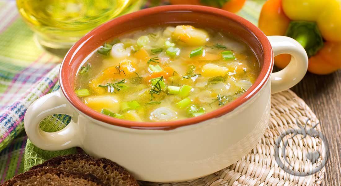 Grønsaksuppe-I