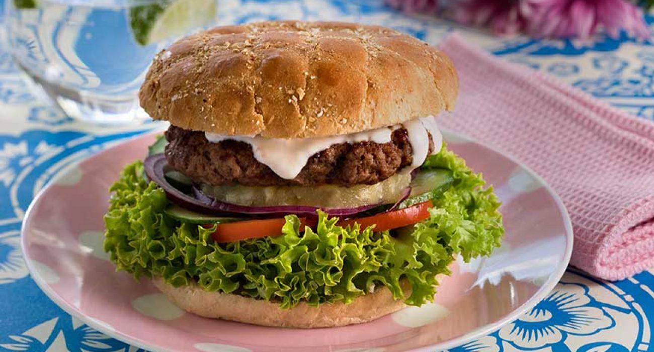 Grillet hawaiiburger