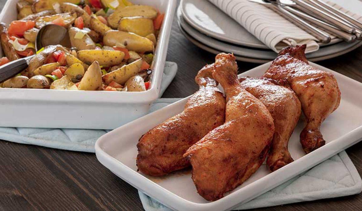 Grillet-kyllinglår-med-lun-potetsalat-1-1