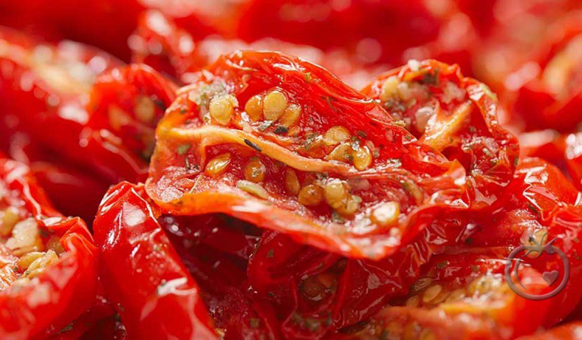 Halvtørkede tomater