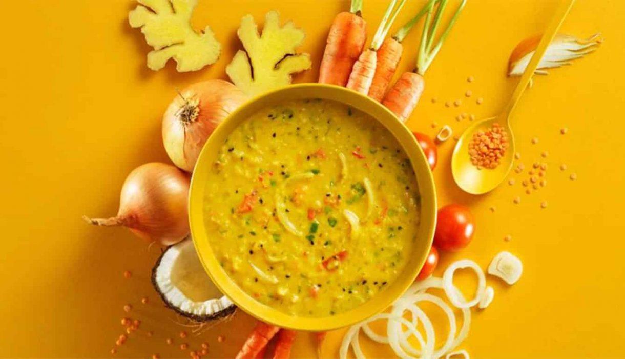 Indiskinspirert-linsesuppe
