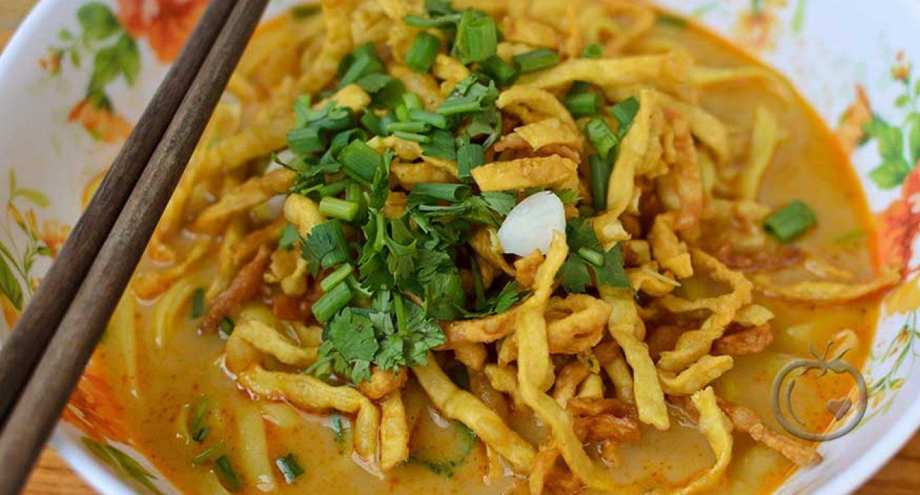 Khao Soi - Chiang Mai nudler