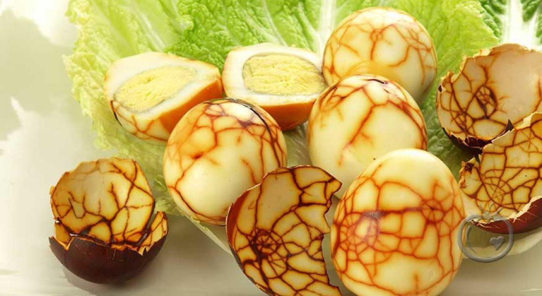 Kinesiske te egg