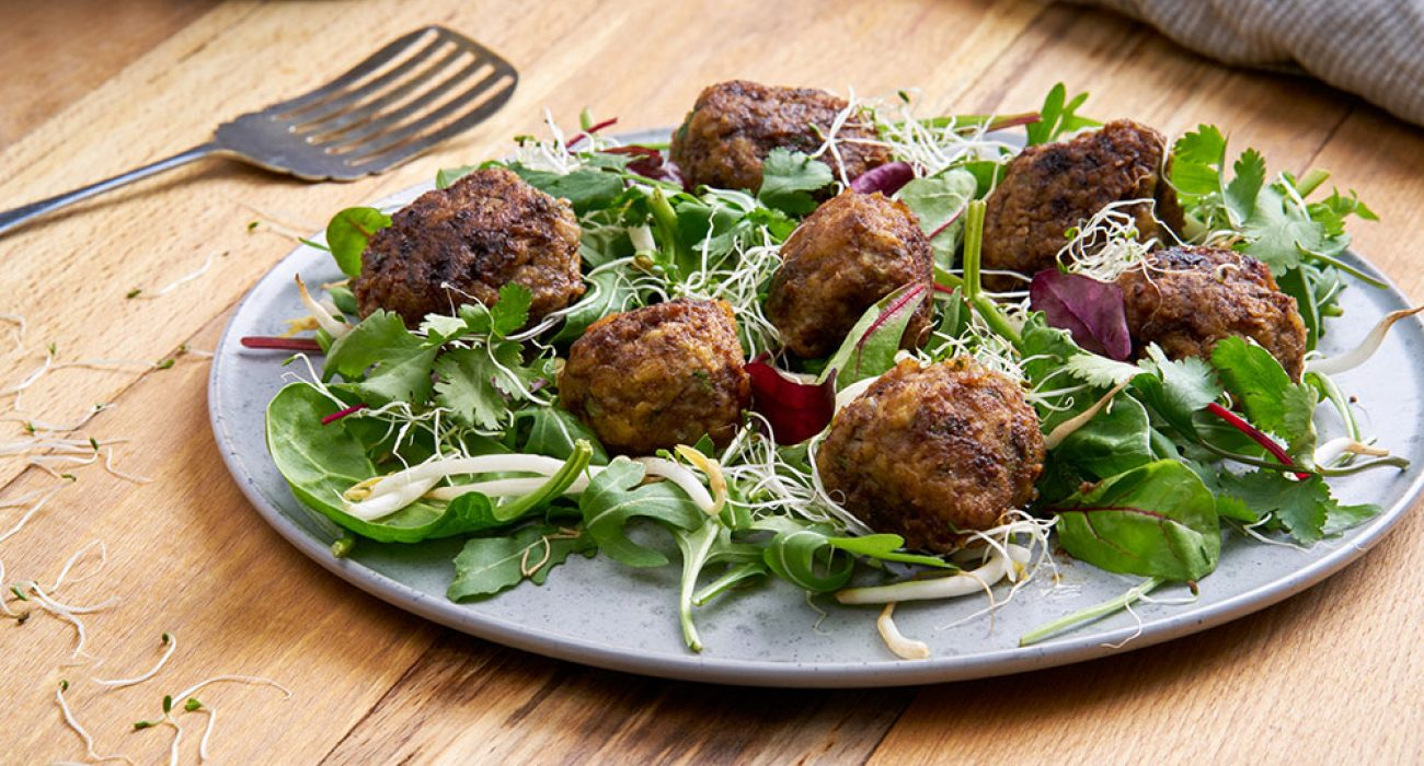 Kjøttboller-med-koriander-