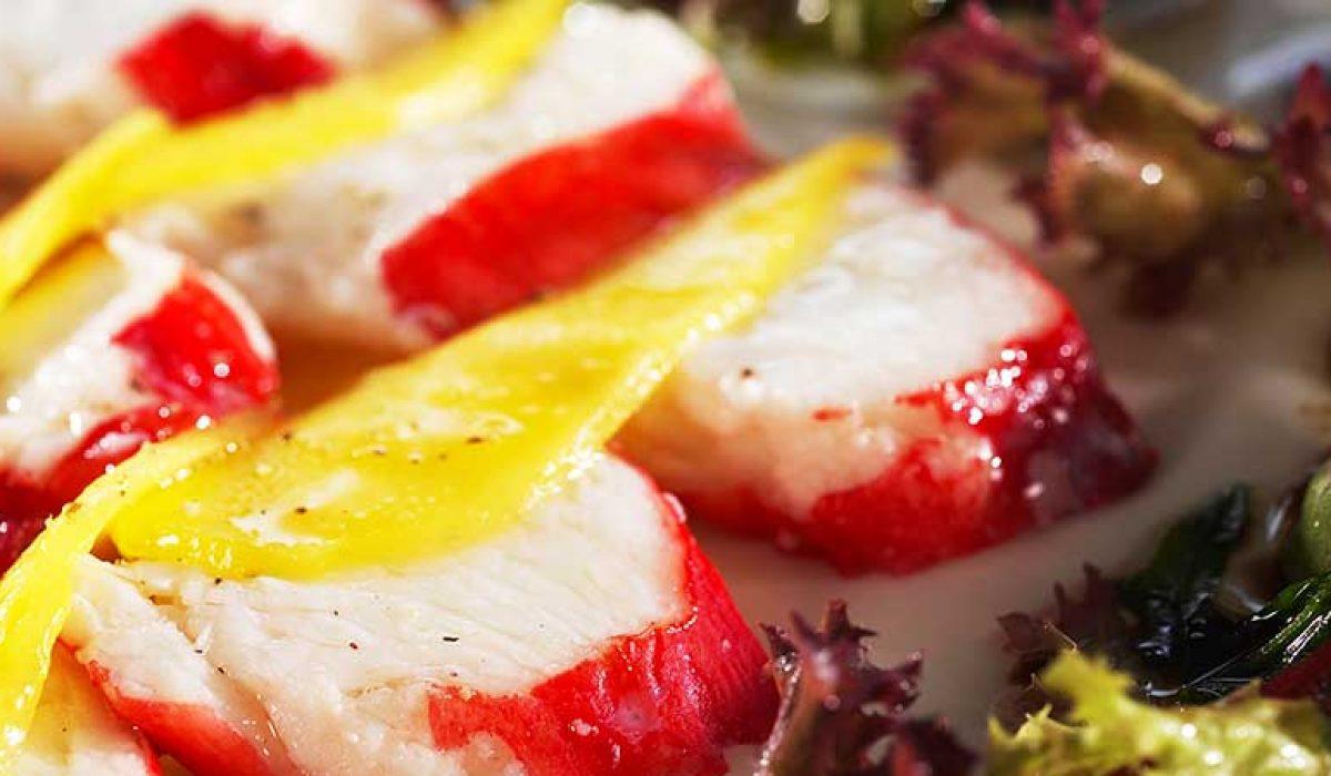Kongekrabbe-med-salat-av-mango-1