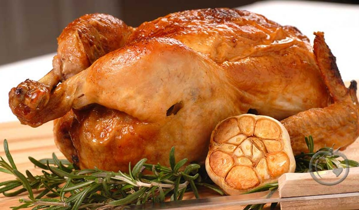 Kylling med hele hvitløk