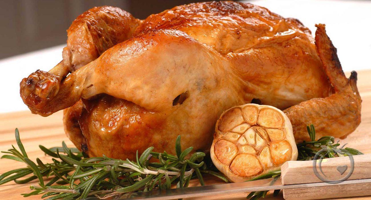 Kylling-med-hele-hvitløk