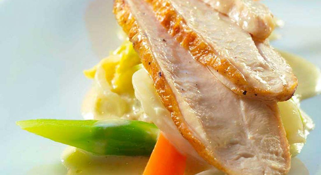 Kyllingfilet-med-kål-og-kremet-soppsaus-1