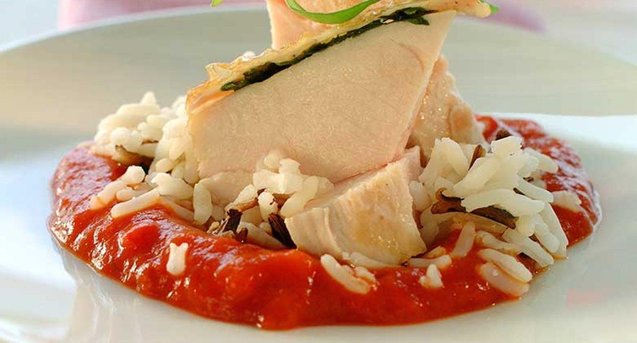 Kyllingfilet-med-paprikasaus-1
