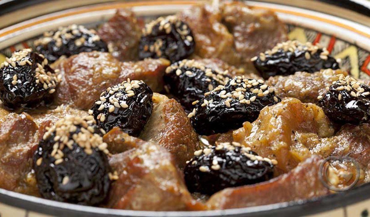Lammetagine med frukt og honning, Lamtajine à là Fez
