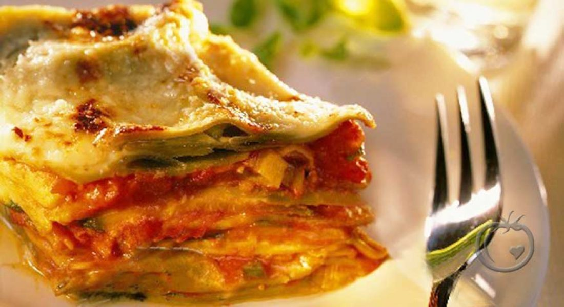 Lasagne med tre ostesorter