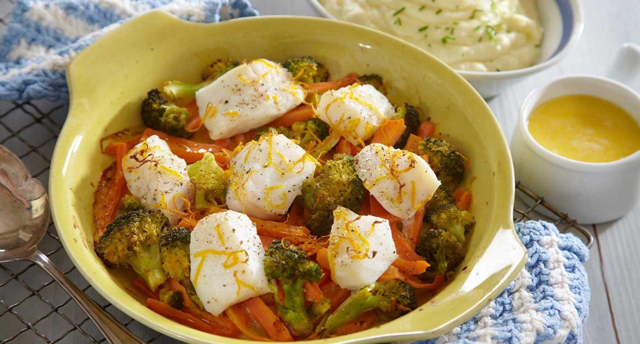 Lettsaltet-torsk-og-brokkoli-i-form