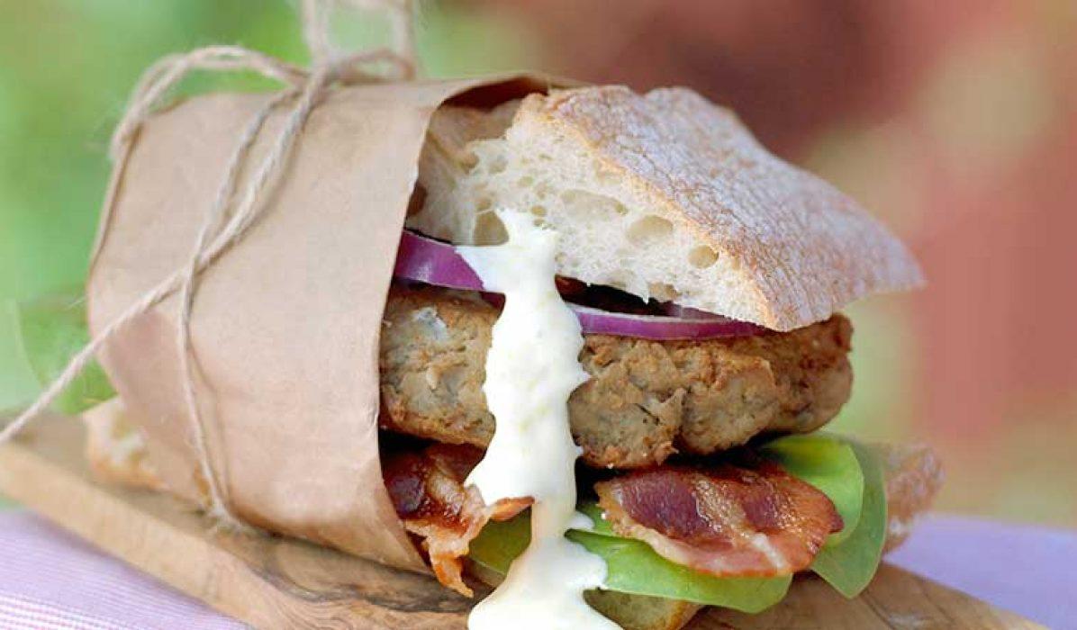 Makrellburger