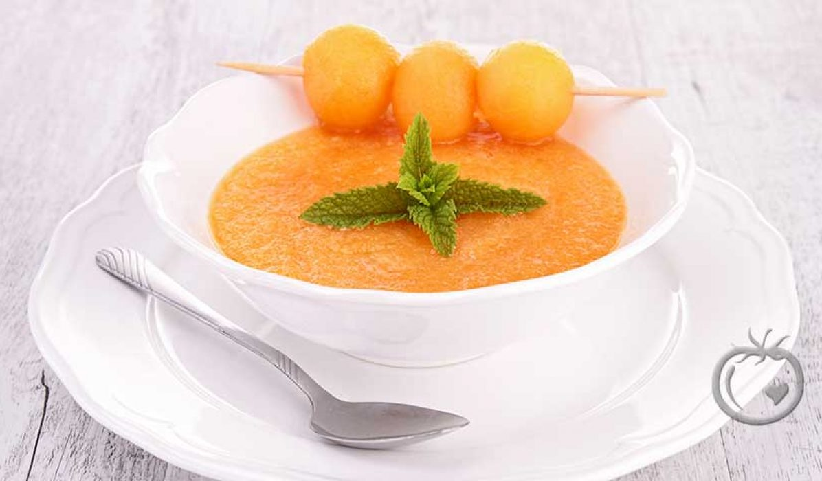 Melonsuppe