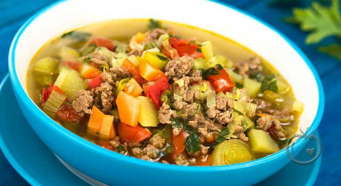 middagsgryte med kjøttdeig