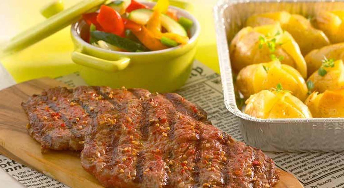 Minuttbiff-med-bakte-grønnsaker