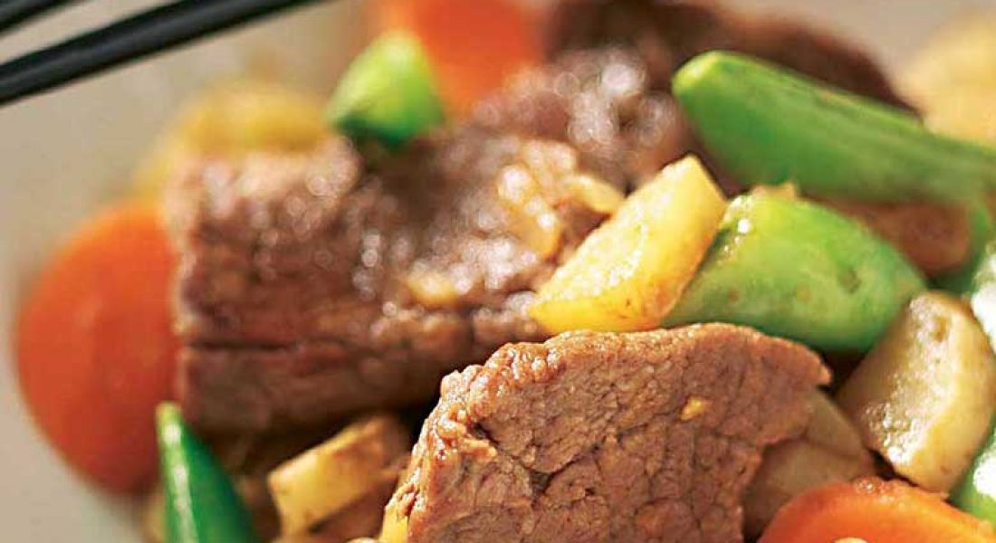 Niku Jaga – kjøtt og poteter