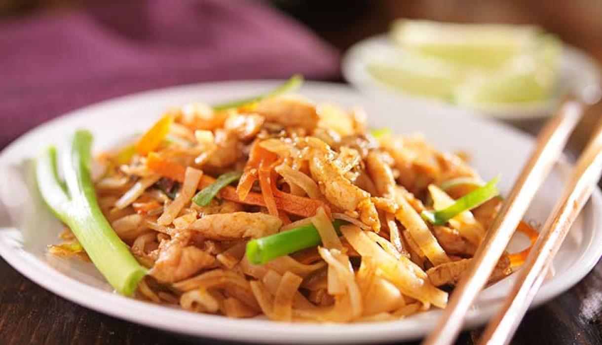 Pad Thai - stekte nudler