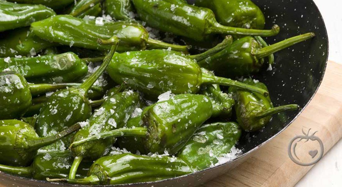 Pimientos de Padron (stekt grøn paprika)