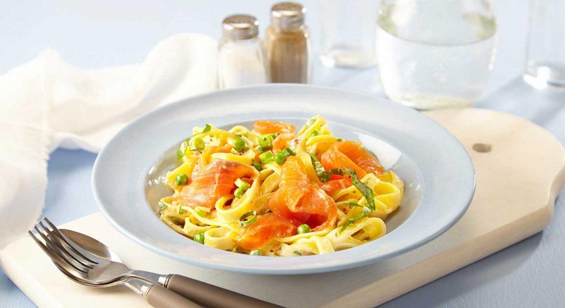 Røkt-ørret-med-pasta