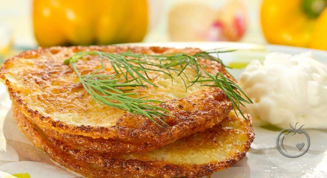 Røsti med poteter og gulrot