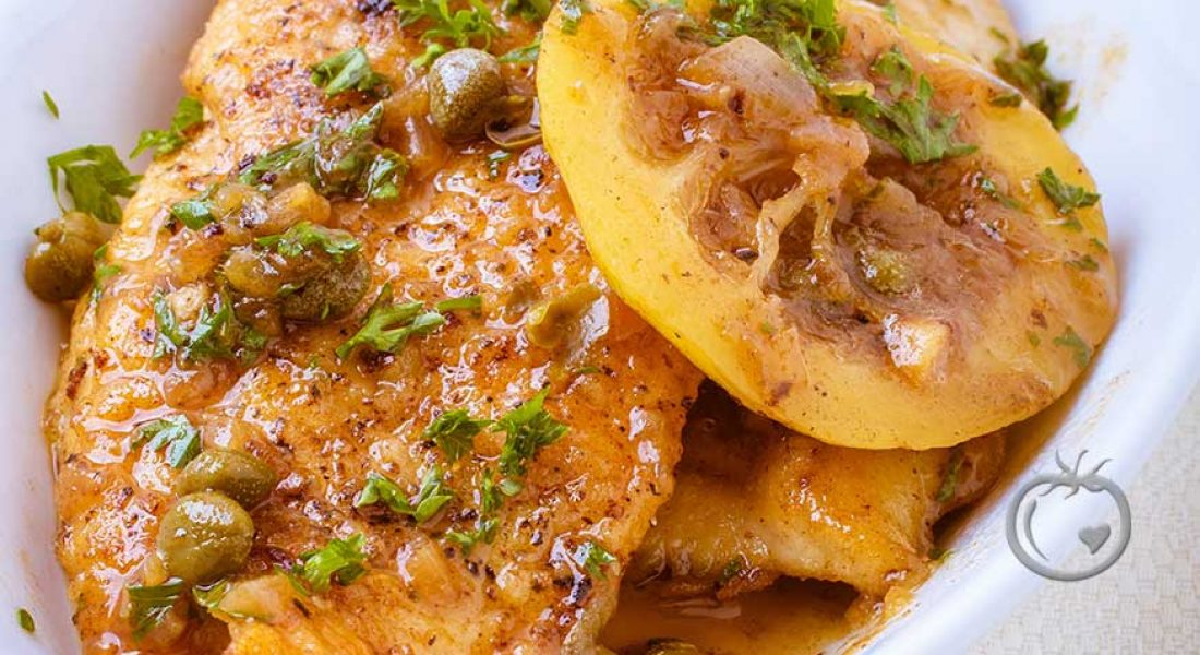 Sitron kylling «picata»
