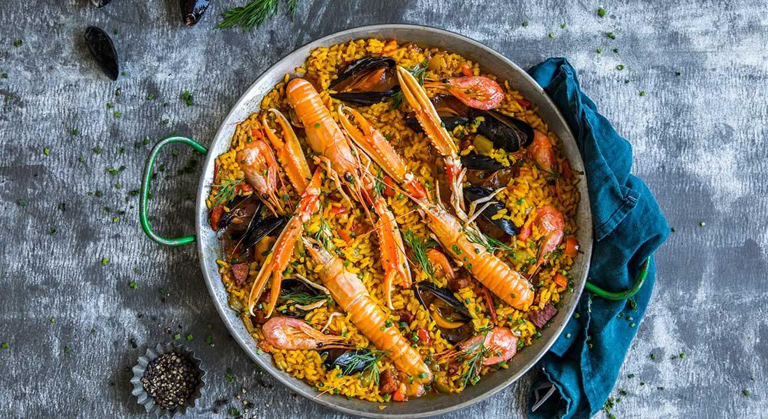 Spansk-paella