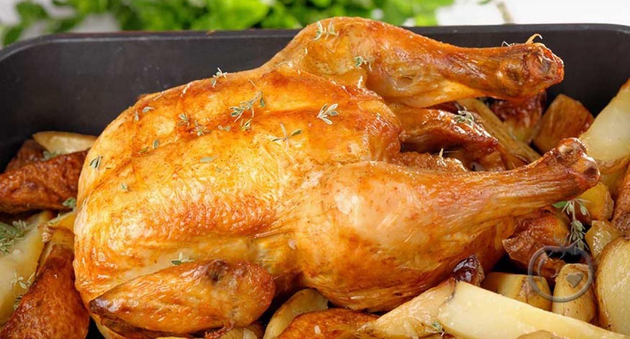 Stekt kylling
