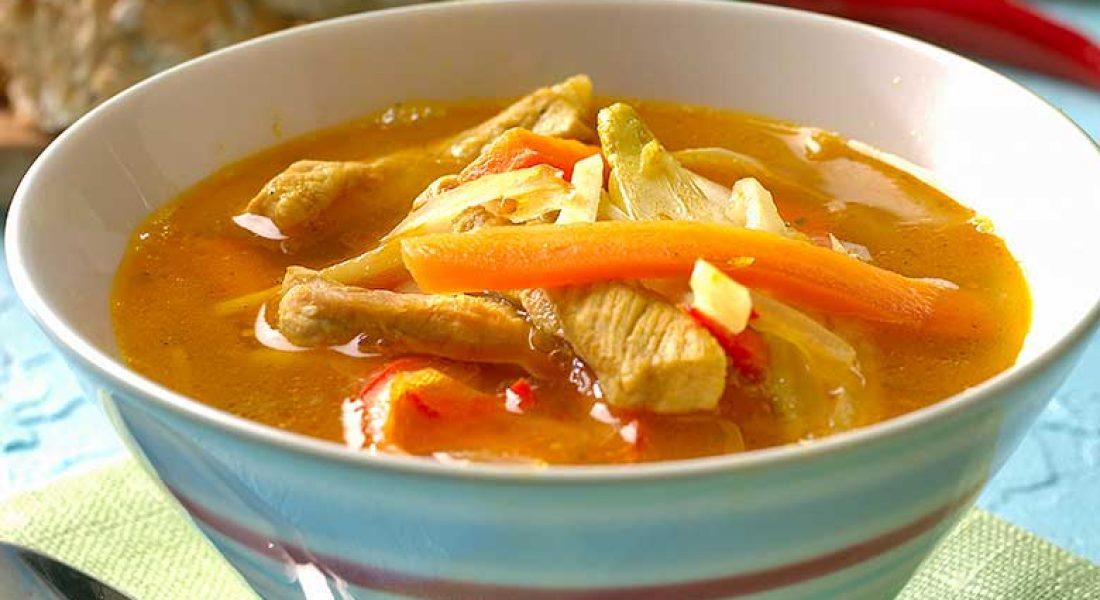 Suppegryte med asiatisk smak
