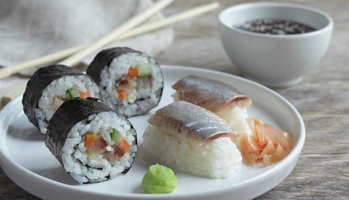 Sushi med matjessild