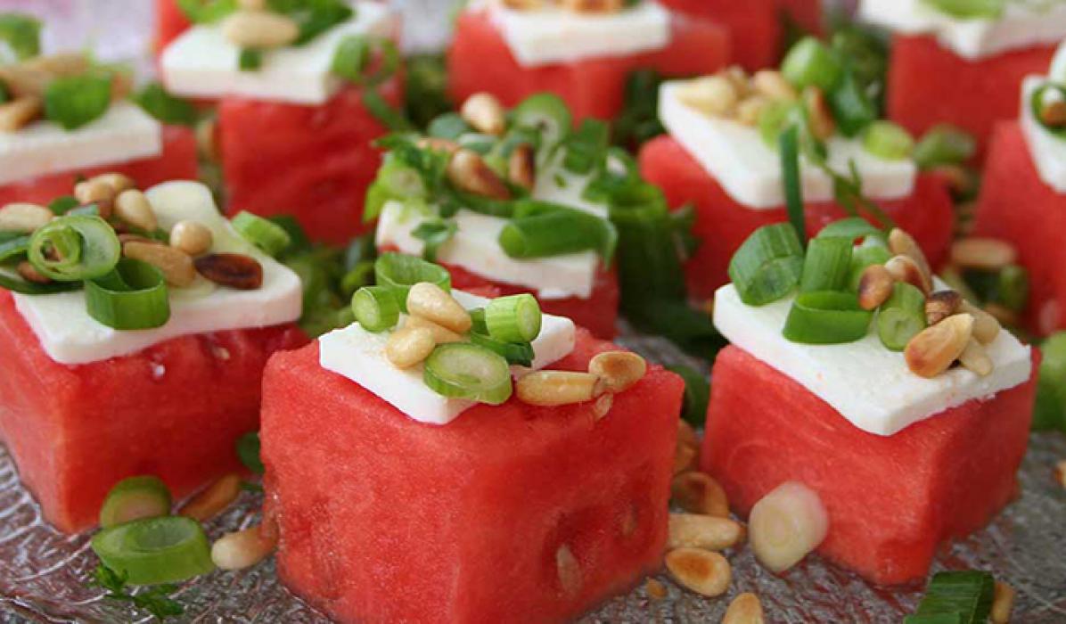 Tapas-med-vannmelon-og-fetaost1