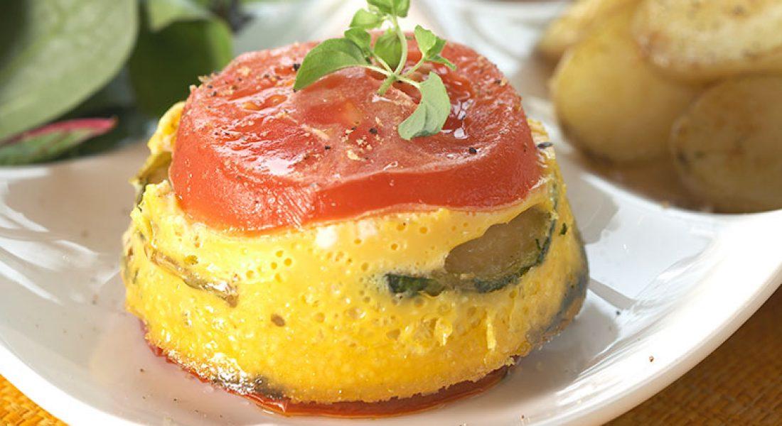 Tomat- og squashtimbaler