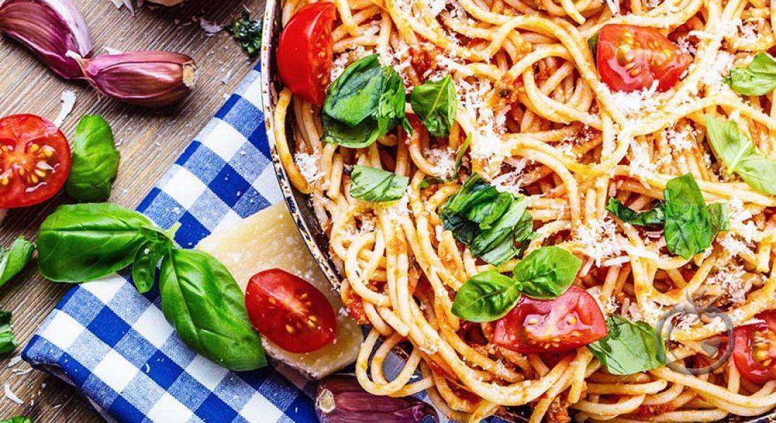 Vegetarspaghetti