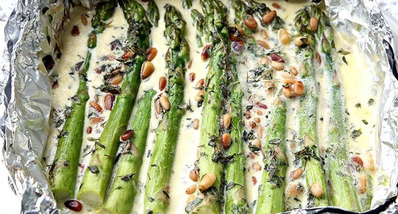 asparges-i-fløtesaus