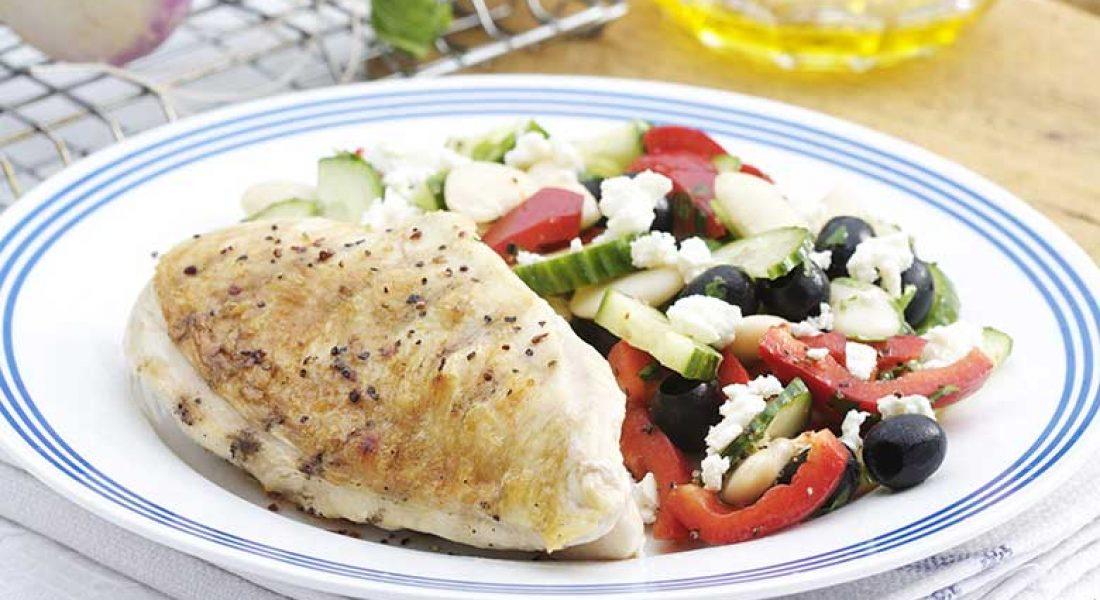 kyllingfilet-med-bønnesalat-1